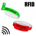 RFID bracelets en plastique