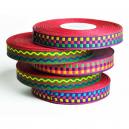 Rouleaux de ruban coloré pour faire des bracelets festival