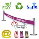 Ruban d'inauguration écologique et durable Via eMail.