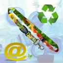 Lanières durable et respectueux de l'environnement imprimé