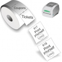 Imprimez-vous des tickets et des coupons avec l'imprimante directe thermique JMB4+