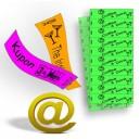 Bons et billets imprimés sur du papier Tyvek