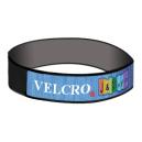 Bracelets Velcro® avec bande tissée sur le dessus
