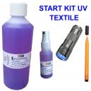 Kit de démarrage UV pour marquer les vêtements textiles