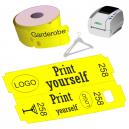 Rouleaux de tickets de vestiaire thermique direct pour imprimante JMB4
