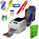 Imprimante thermique JMB4 qui imprime sur des rouleaux de rubans de papier, de rubans de polyester et de rubans de polyprotex
