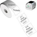Imprimez-vous des tickets et des coupons avec l'imprimante directe thermique JMB4