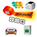 Imprimez-vous en utilisant l'imprimante thermique JMB4 sur des bandes réfléchissantes