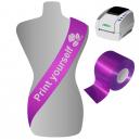 Imprimez vous-même des écharpes sur un système d'impression JMB4