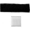 Serrures velcro adhésives pour attacher de larges rubans sur une ceinture