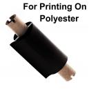 Feuilles d'impression avec une imprimante à transfert thermique sur polyester