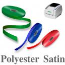 Rubans de satin de polyester étroits