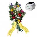 Imprimez comme vous voulez quand vous voulez, rubans de bouquet utilisant l'imprimante thermique JMB4