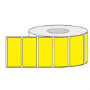 Rouleaux d'étiquettes adhésives colorées pour l'impression par transfert thermique