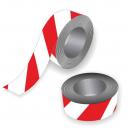 Ruban adhésif rouge et blanc pour les événements sportifs