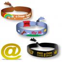 Bracelet de festival de textile tissé envoyer votre conception