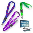 Concevoir des lanières en ligne avec sérigraphie
