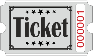 Billets Ticket - Gris